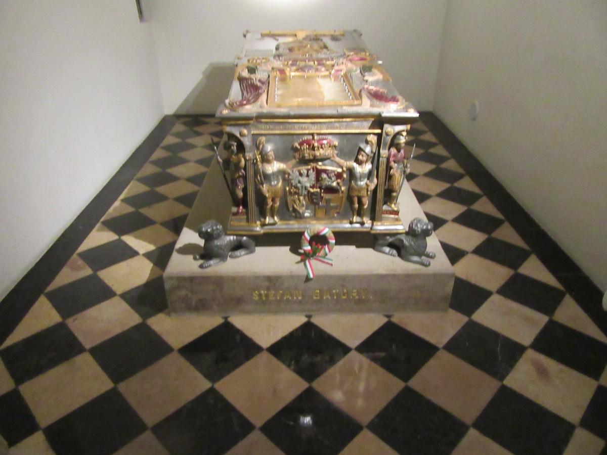 Zdjęcia: Kraków, Kraków, Sarkofag Stefana Batorego na Wawelu, POLSKA