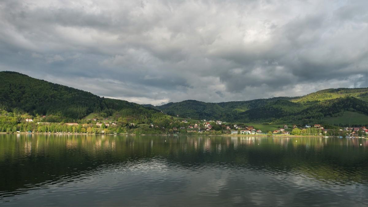 Zdjęcia: Jezioro Międzybrodzkie, Śląskie, Cisza przed ... ;-), POLSKA