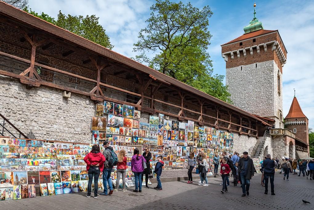 Zdjęcia: Kraków, Małopolska, kolorowy maj..., POLSKA