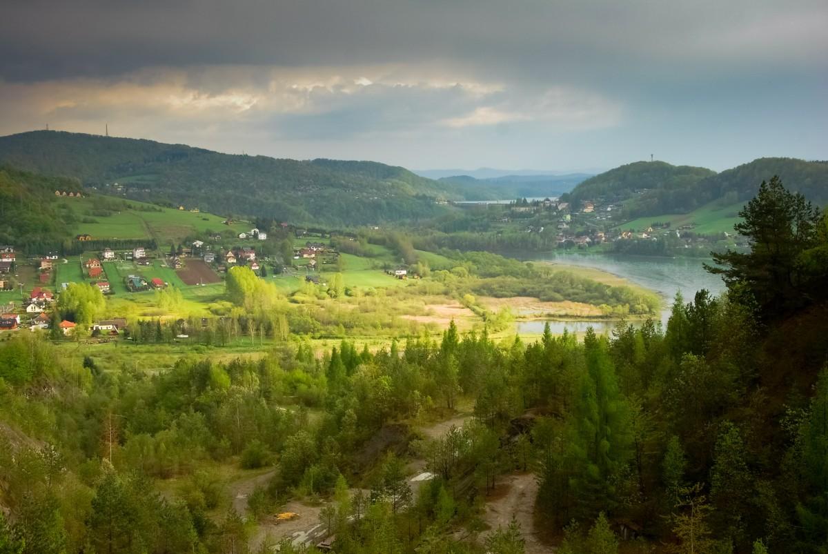 Zdjęcia: Bóbrka, Podkarpacie, ...Bo Z Góry Widać Więcej, POLSKA