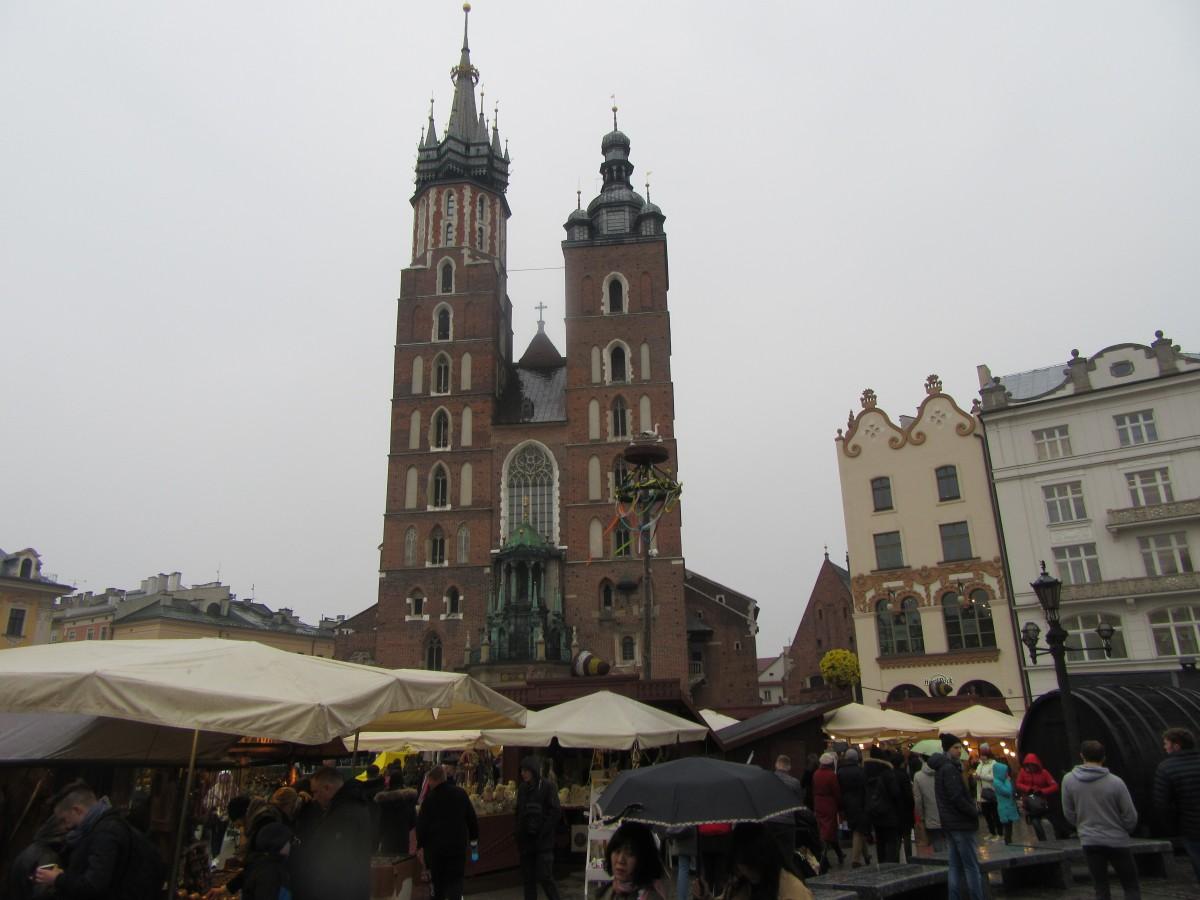 Zdjęcia: Kraków, Kraków, Kościół Mariacki - Rynek - Kraków, POLSKA
