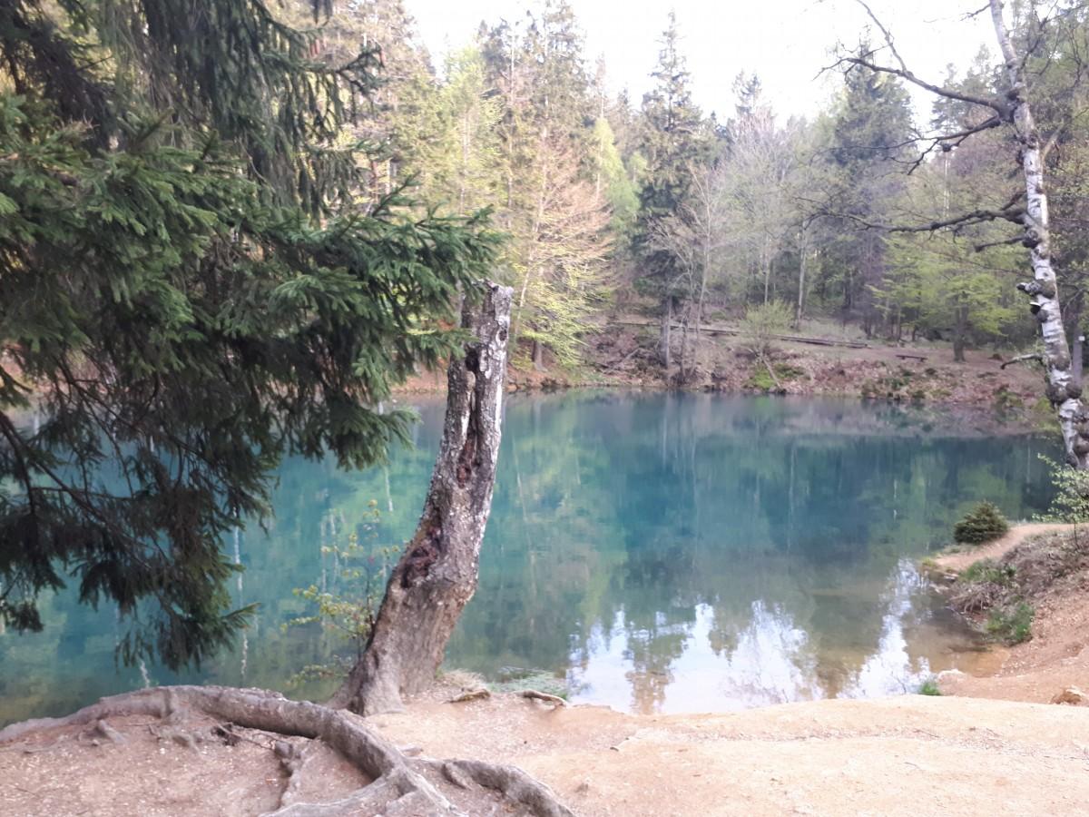 Zdjęcia: Kolorowe Jeziorka , Rudawski Park Krajobrazowy , Kolorowe Jeziorka , POLSKA