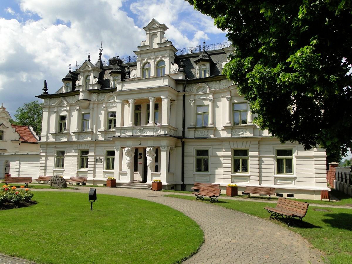Zdjęcia: Supraśl, Podlasie, Pałac Buchholtzów., POLSKA