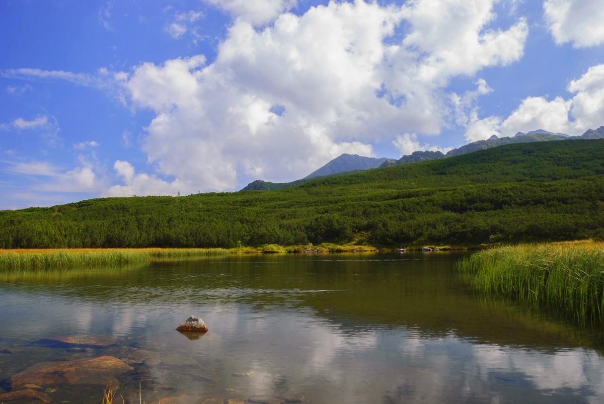 Zdjęcia: zachodnia część Doliny Gąsienicowej, TATRY, jezioro Kurtkowiec, POLSKA