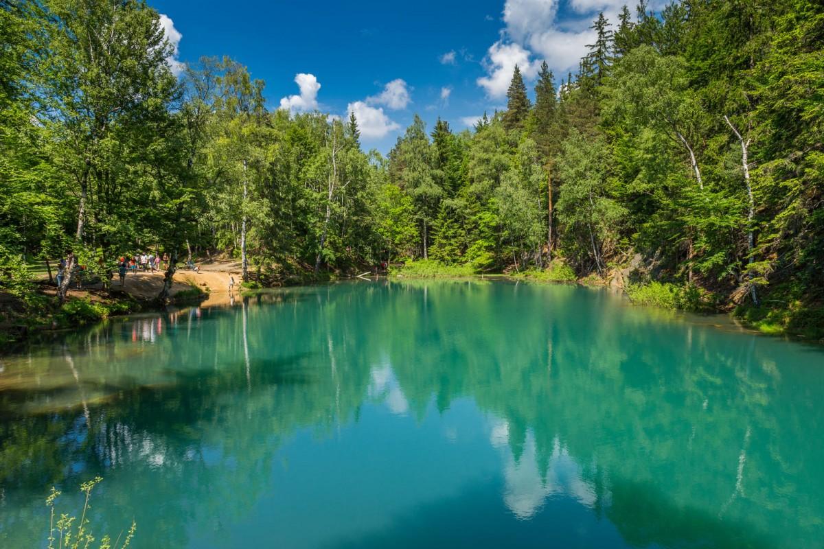 Zdjęcia: , , Kolorowe Jeziorka w Rudawach Janowickich/Adobe Stock, POLSKA