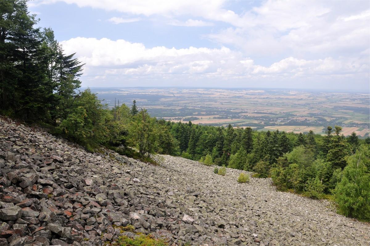 Zdjęcia: Góry Świętokrzyskie, świętokrzyskie, Gołoborze na Łysej Górze, POLSKA