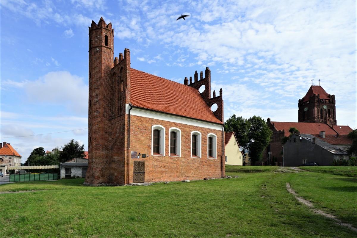 Zdjęcia: Prabuty, Pojezierze Iławskie, Kościółek polski, POLSKA