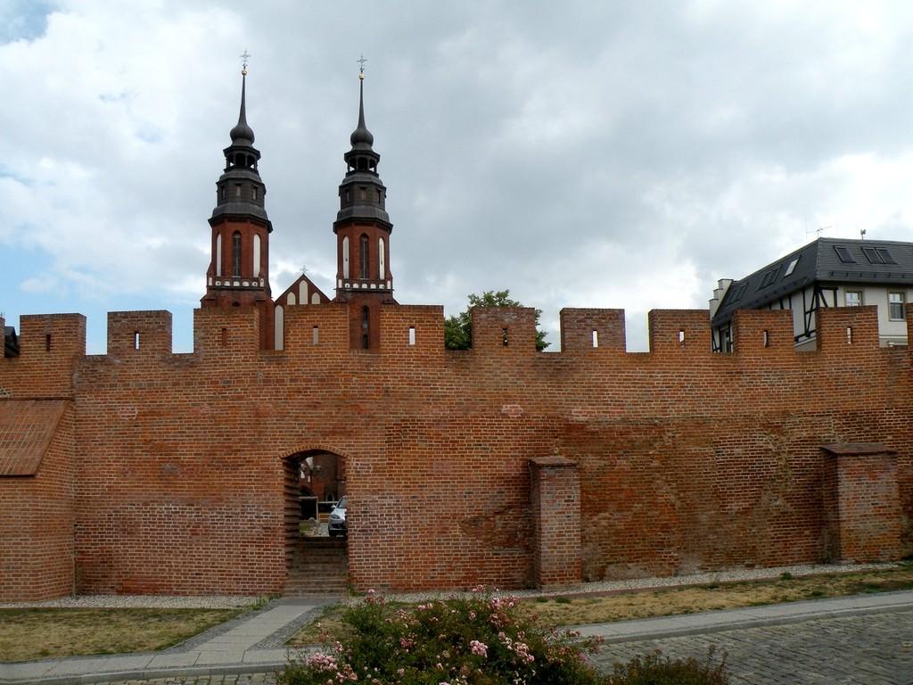 Zdjęcia: Opole, opolskie, Fragmenty murów obronnych, POLSKA