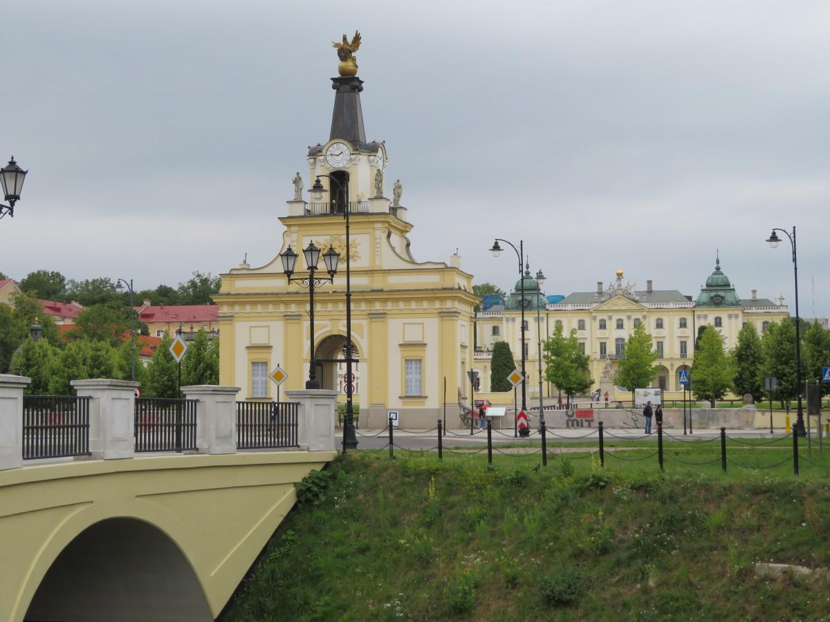 Zdjęcia: Bialystok, Podlaskie, Brama wielka przy palacu Branickich, POLSKA