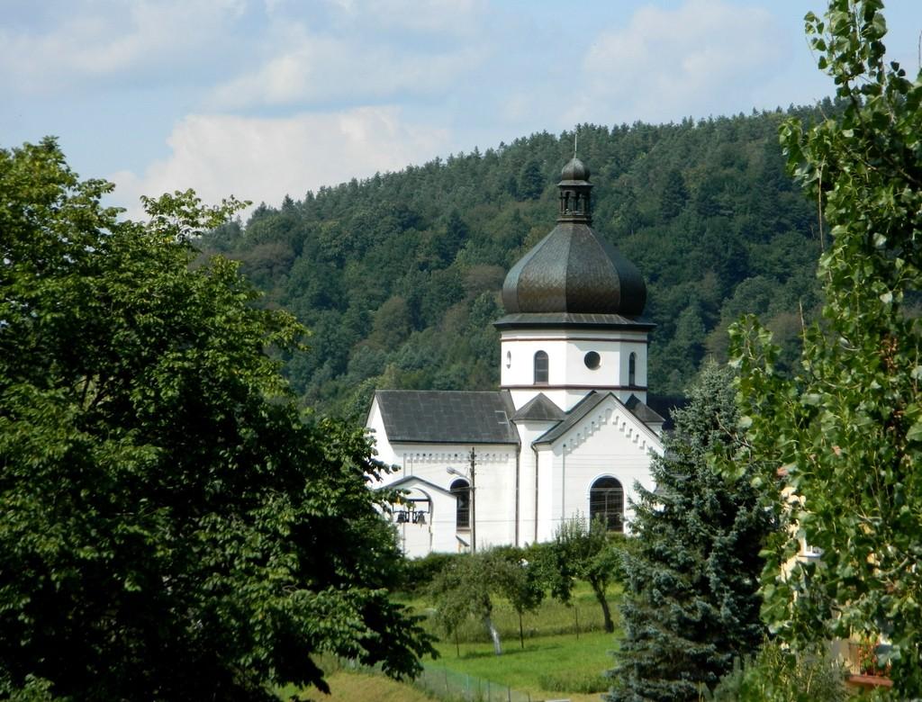 Zdjęcia: Myczkowce, podkarpackie, Dawna cerkiew, POLSKA