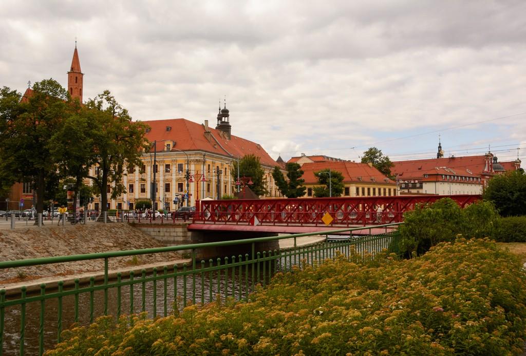 Zdjęcia: Wrocław, woj. dolnośląskie, pocztówki z Wrocławia - Most Piaskowy, POLSKA