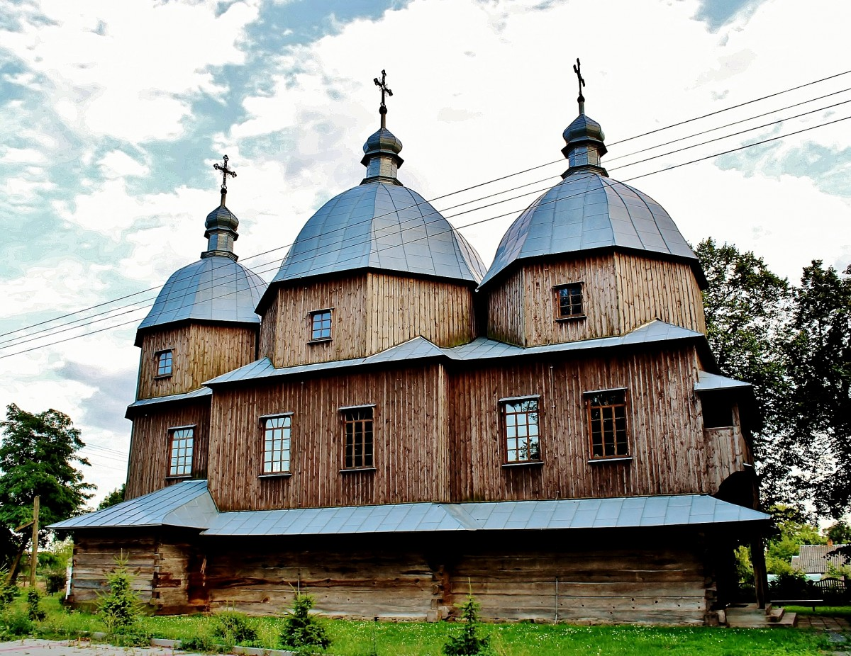 Zdjęcia: Budynin, województwo lubelskie, Cerkiew Niepokolanego Poczęcia NMP z 1887 roku, POLSKA