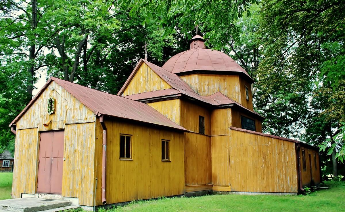 Zdjęcia: Sulimów, województwo lubelskie, Cerkiew św.Jana Ewangelisty z 1867 roku, POLSKA