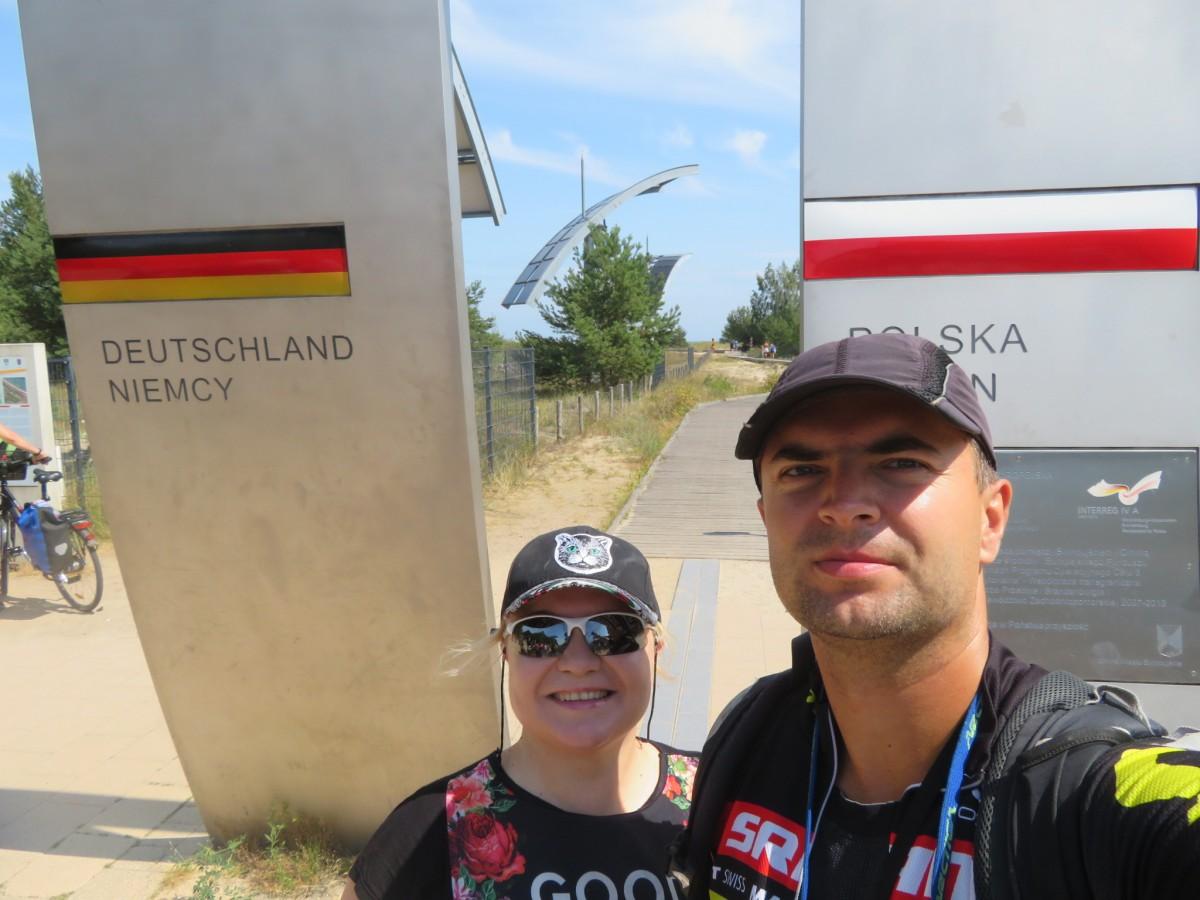 Zdjęcia: Polska, Bałtyk, Jak przejechać rowerem z Trójmiasta do Ahlbeck, POLSKA