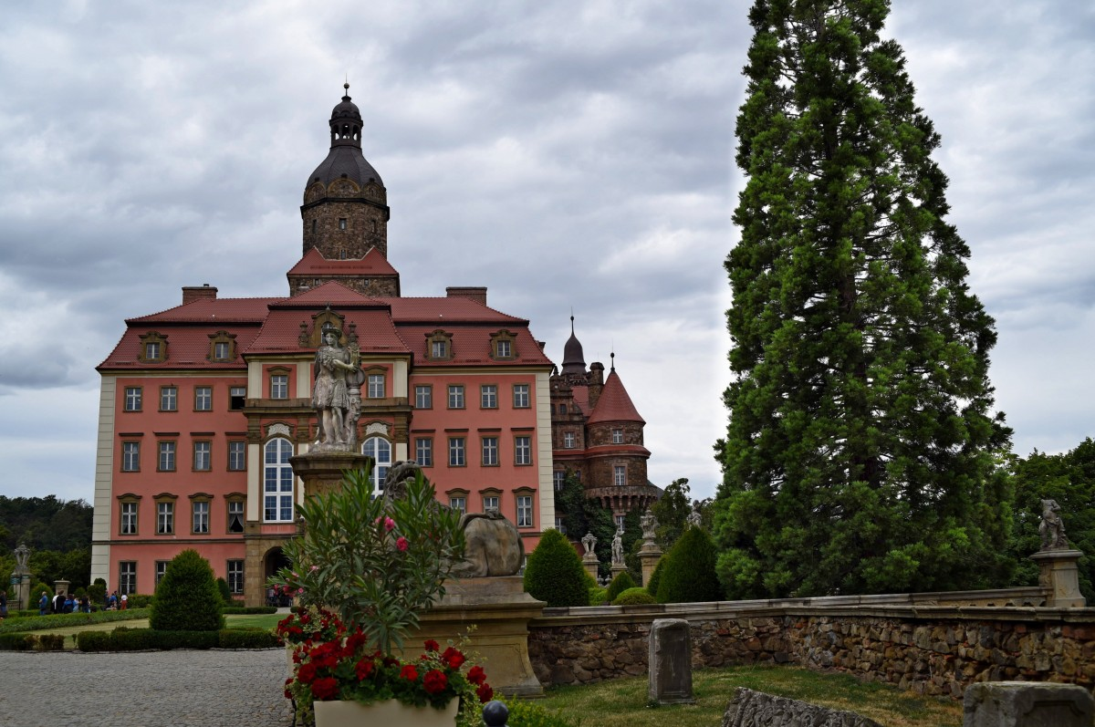 Zdjęcia: Wałbrzych, Dolnośląskie, zamek Książ, POLSKA