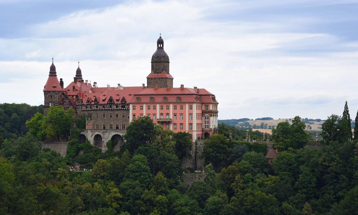 Zdjęcia: Wałbrzych, Dolnośląskie, -zamek -, POLSKA