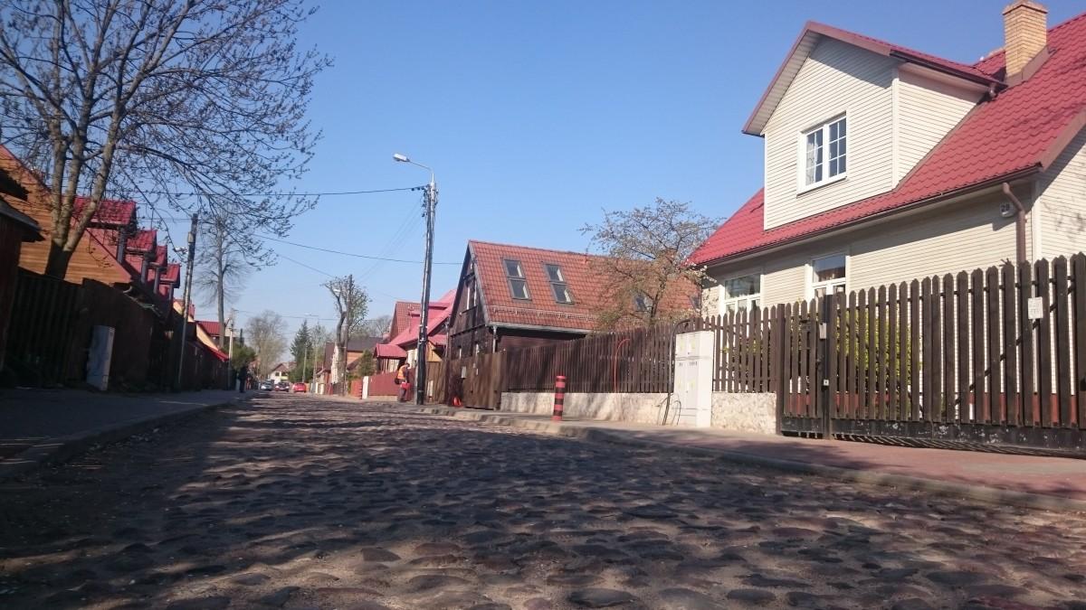 Zdjęcia: Białystok, ul. Koszykowa, podlaskie, Kocie łby, POLSKA