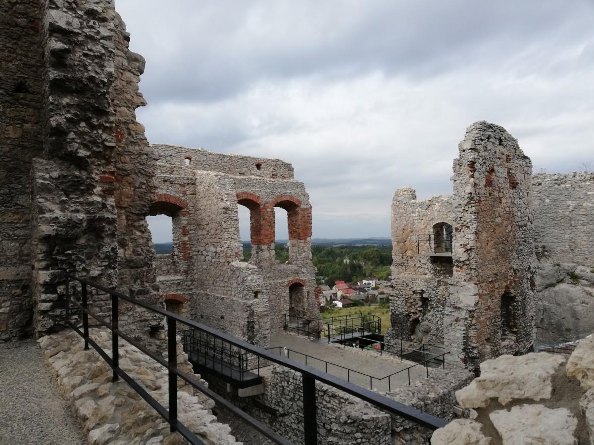 Zdjęcia: Ogrodzieniec, małopolska, Ruiny Zamku Ogrodzieniec, POLSKA