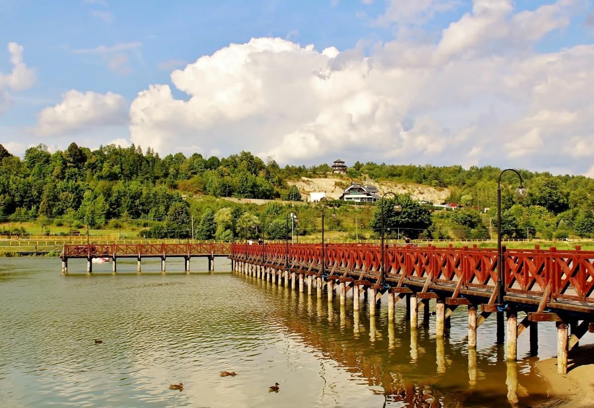 Zdjęcia: Krasnobród, województwo lubelskie, Molo, POLSKA