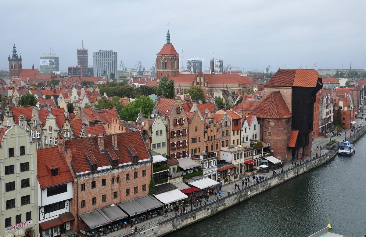 Zdjęcia: Gdańsk, pomorskie, Widok z 7 piętra, POLSKA
