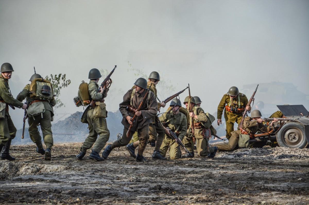 Zdjęcia: Tokarnia Skansen, Świętokrzyskie, Bitwa pod Broniną 2, POLSKA