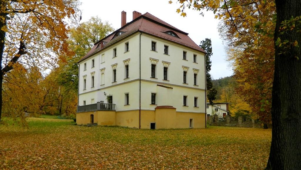 Zdjęcia: Witoszów Górny, dolnośląskie, Jesień w przypałacowym parku, POLSKA