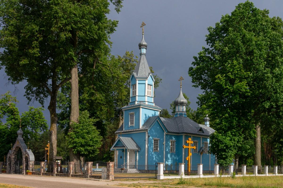 Zdjęcia: Werstok, Podlasie, Cerkiew Podwyższenia Krzyża Pańskiego, POLSKA