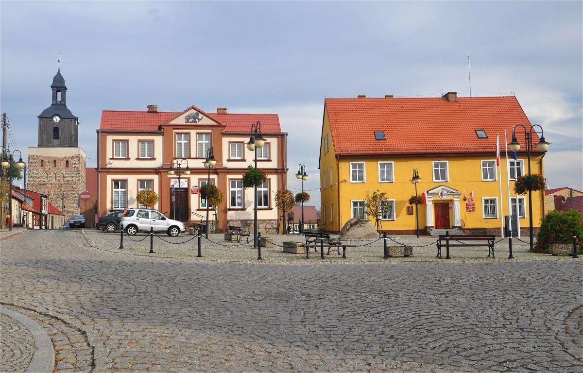 Zdjęcia: Moryń, zachodniopomorskie, Rynek w Moryniu, POLSKA