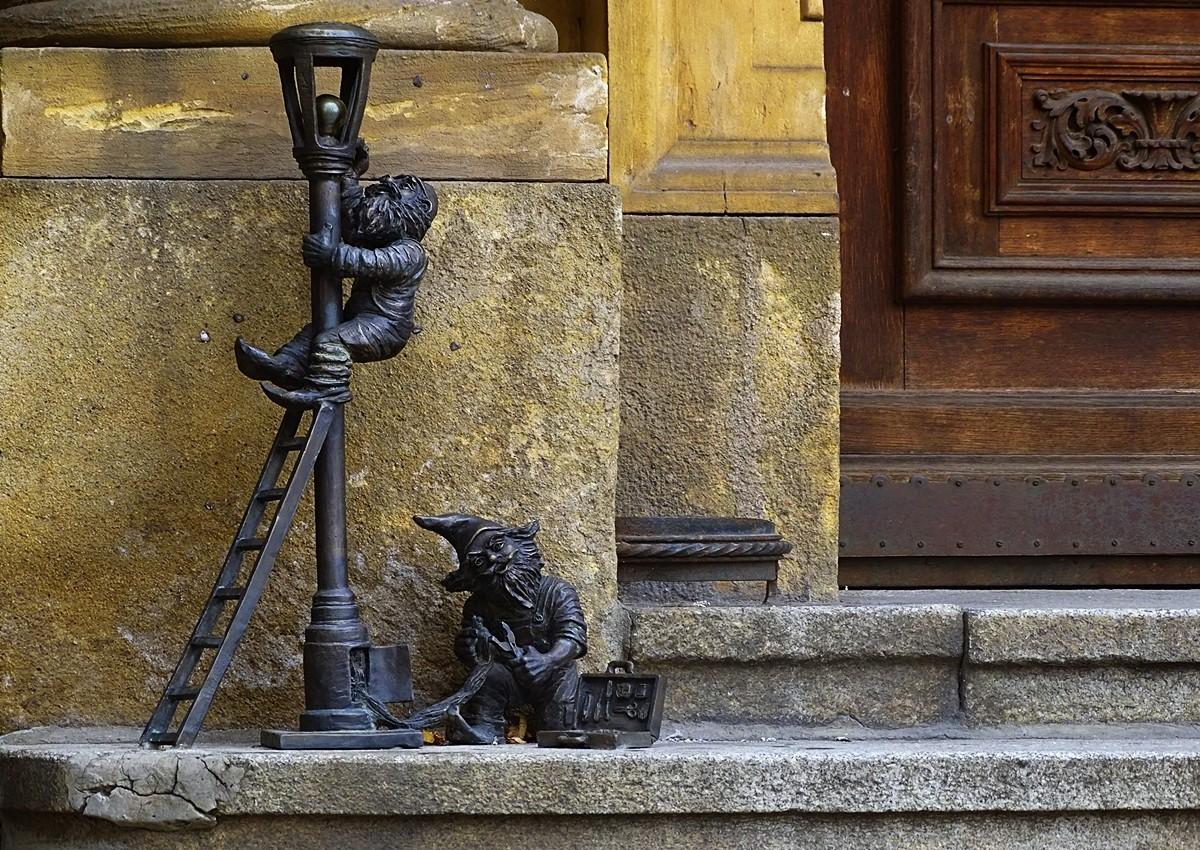 Zdjęcia: Wrocław, dolnośląskie, Przyłapani przy pracy, POLSKA