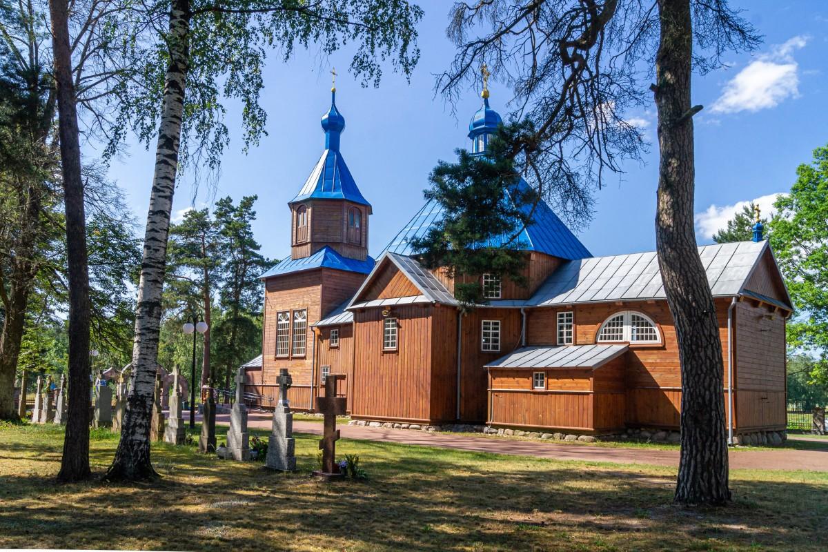 Zdjęcia: Kuraszewo, Podlasie, Cerkiew św. Antoniego Pieczerskiego, POLSKA