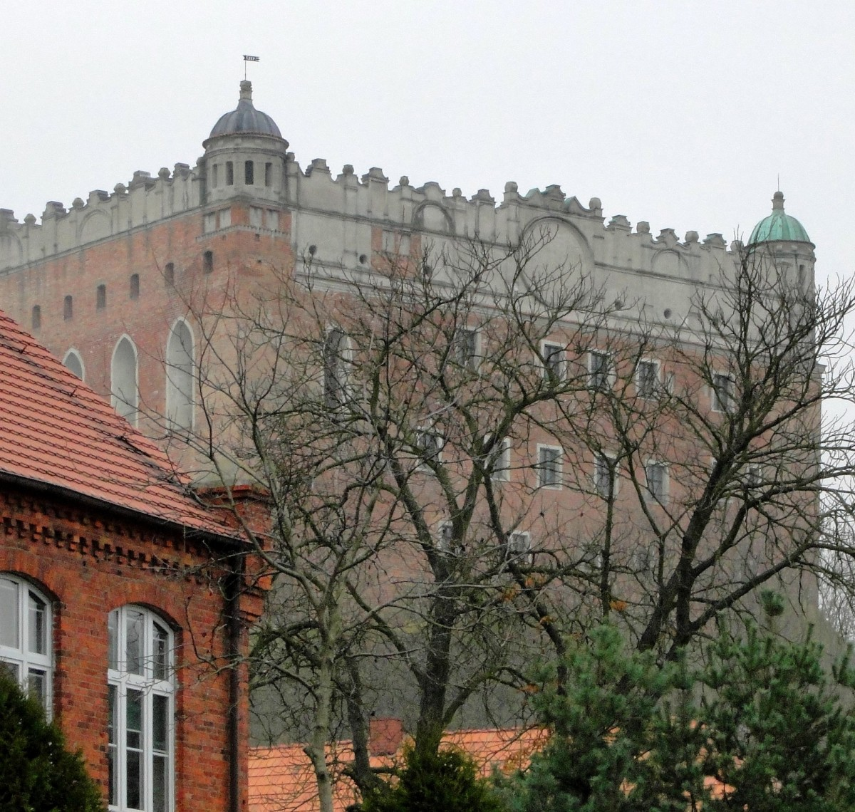 Zdjęcia: Golub - Dobrzyń, kujawsko-pomorskie, Z widokiem na zamek, POLSKA