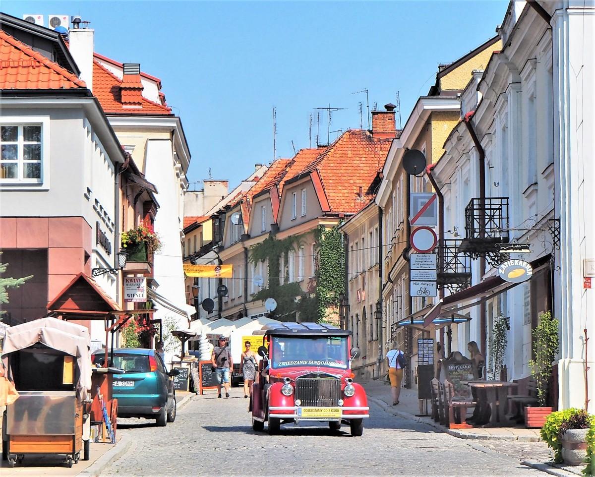 Zdjęcia: Sandomierz, woj. świętokrzyskie, na starówce..., POLSKA