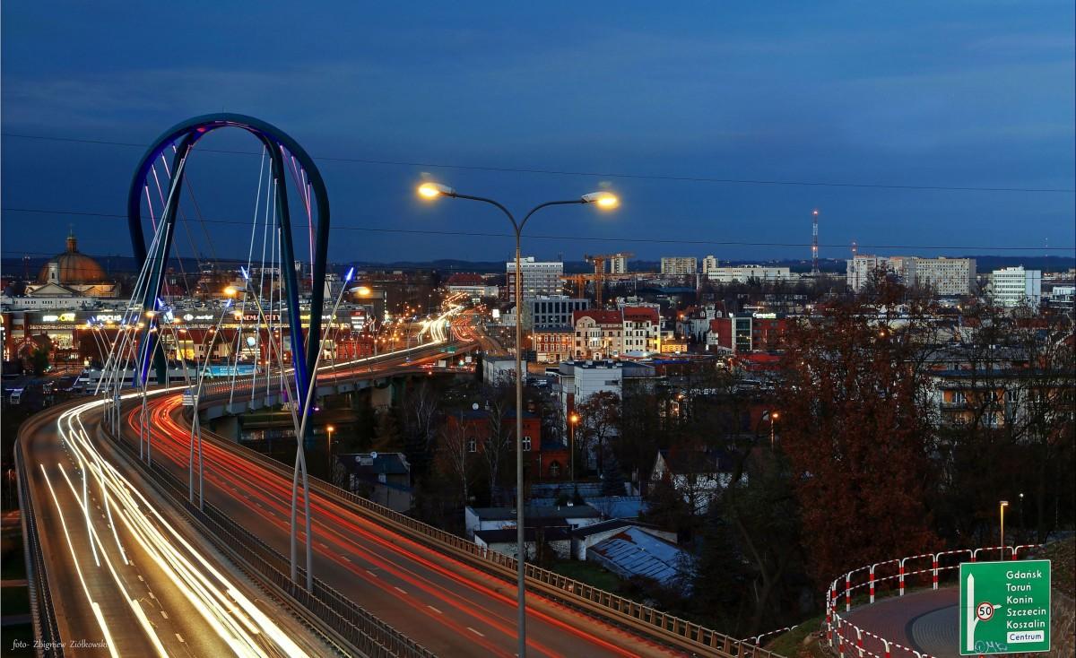 Zdjęcia: Bydgoszcz, kujawsko-pomorskiego, Most Uniwersytecki, POLSKA