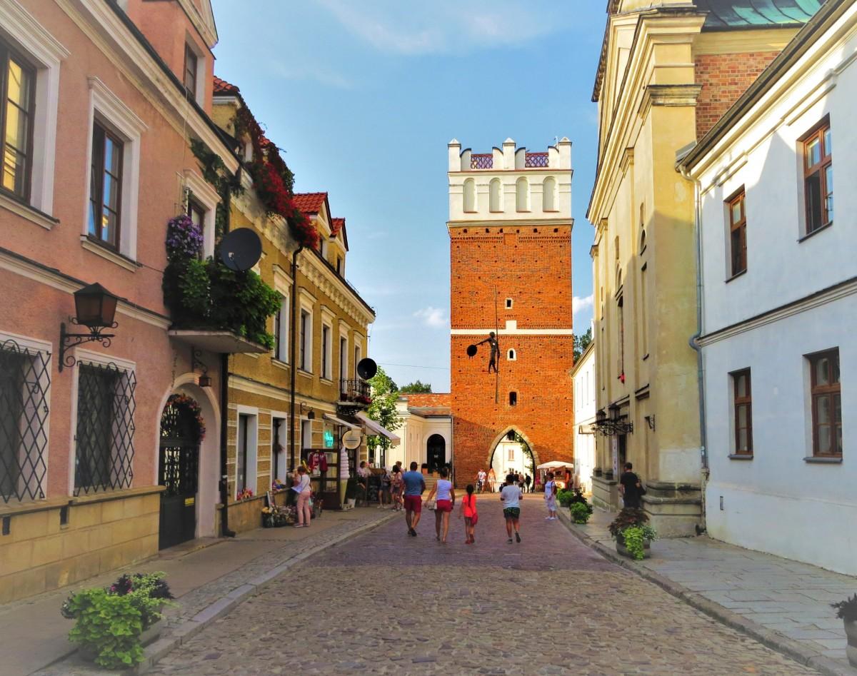Zdjęcia: Sandomierz, Świętokrzyskie, Brama Opatowska..., POLSKA