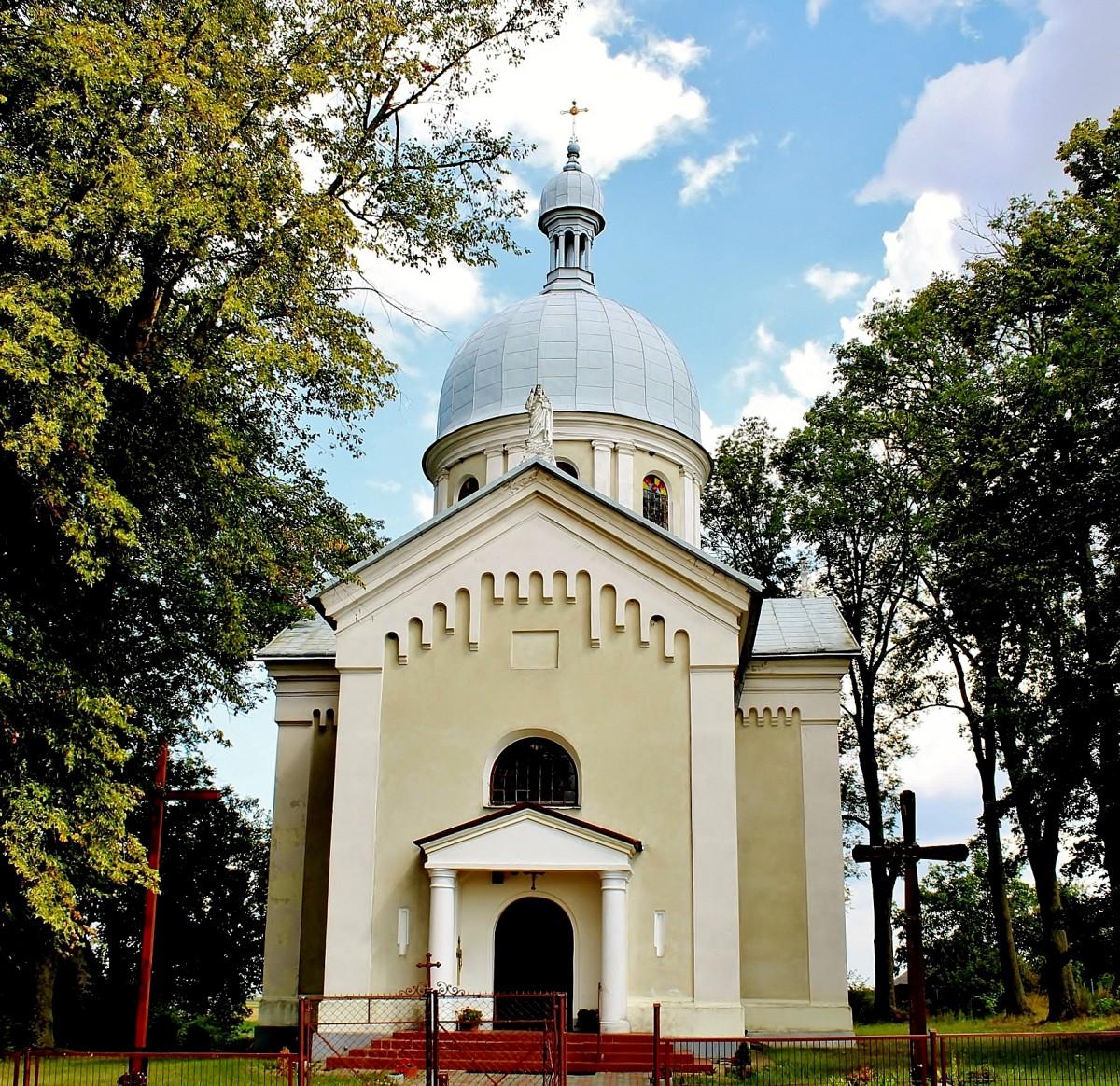 Zdjęcia: Szczepiatyn, województwo lubelskie, Cerkiew greckokatolicka pw.Św.Trójcy z 1913 roku, POLSKA