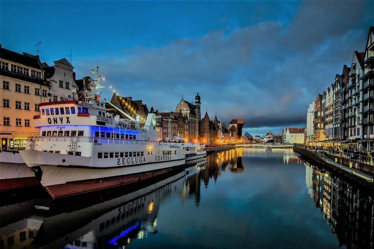 Zdjęcia: Gdańsk, Pomorze, na Motławie, POLSKA