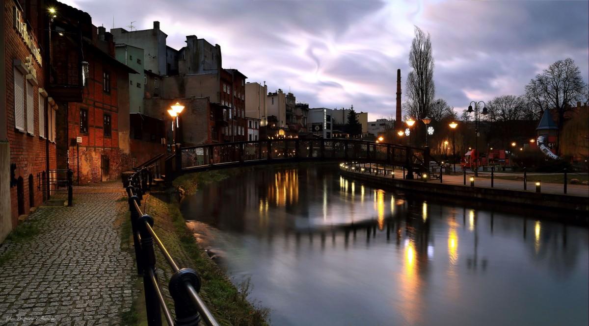 Zdjęcia: Bydgoszcz, kujawsko-pomorskiego, Wieczór Sylwestrowy w Bydgoskiej Wenecji, POLSKA