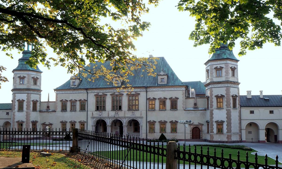 Zdjęcia: Kielce, Pałac Biskupów Krakowskich, świętokrzyskie, dawny pałac  biskupi..., POLSKA