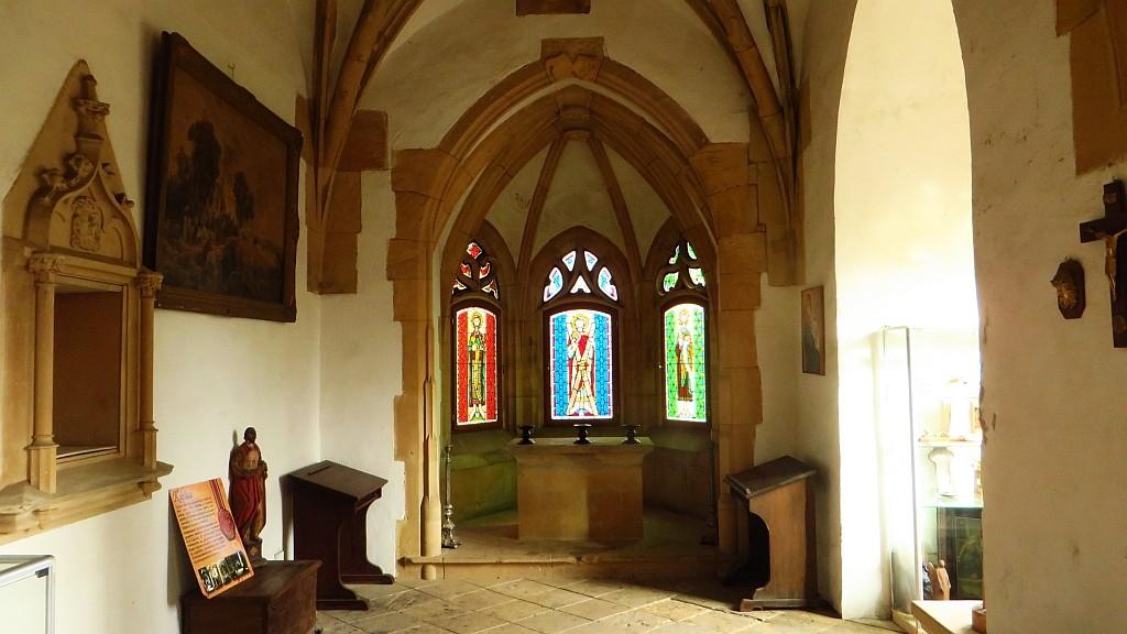 Zdjęcia: Grodziec gm. Zagrodno, Dolny Śląsk, zamek Grodziec kaplica, POLSKA