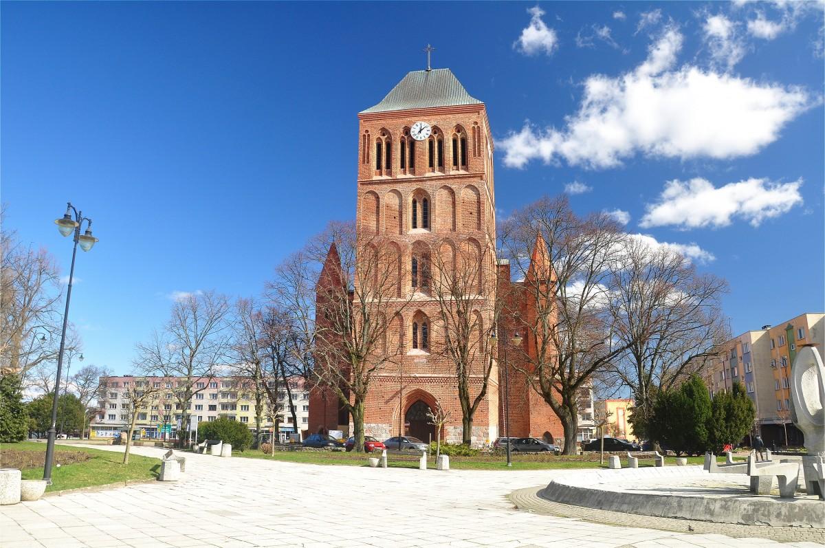 Zdjęcia: Choszczno, zachodniopomorskie, Kościół z XIV wieku w Choszcznie, POLSKA