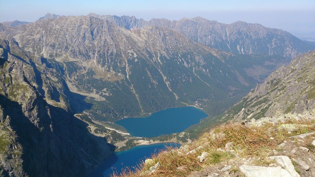 Zdjęcia: Rysy, Tatry, Widok z Rysów, POLSKA