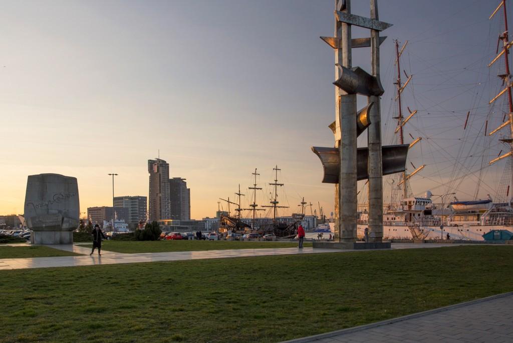Zdjęcia: Gdynia, woj. pomorskie, port w Gdyni, POLSKA