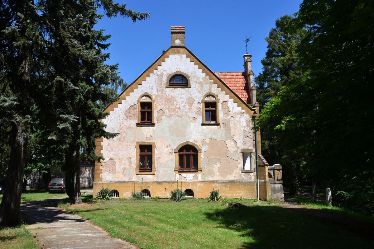 Zdjęcia: Bąblin, województwo wielkopolskie, Dawny budynek misjonarzy, POLSKA