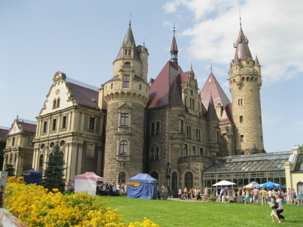 Zdjęcia: Moszna, Moszna, Zamek w Mosznej - Opolskie, POLSKA