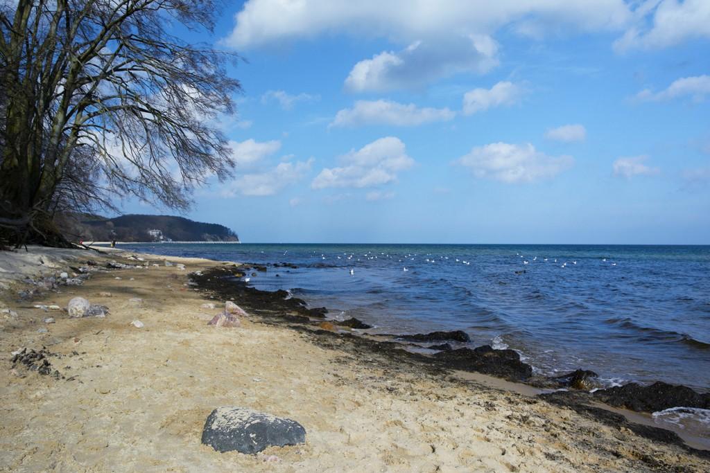 Zdjęcia: Sopot, woj. pomorskie, puste wiosenne plaże, POLSKA