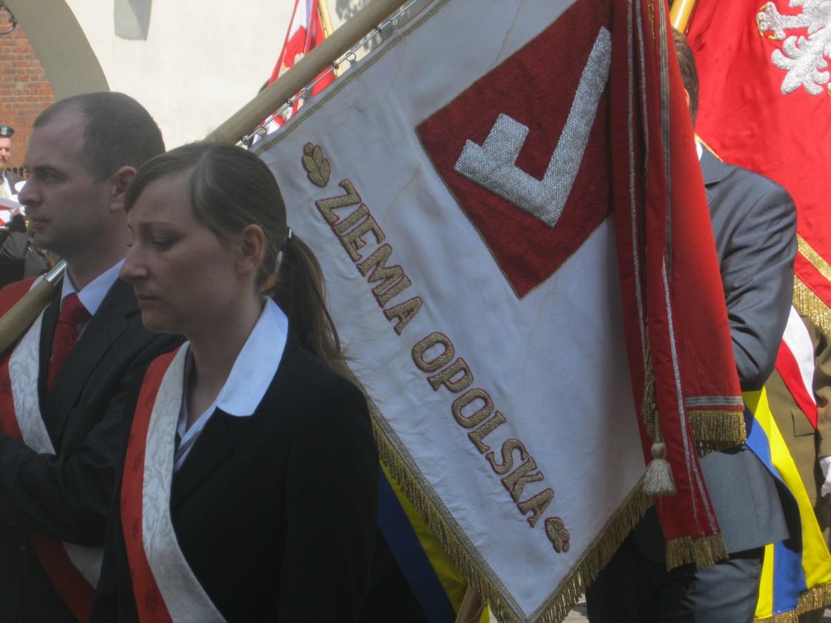 Zdjęcia: Opole, Opole, 3 maj w Opolu, POLSKA