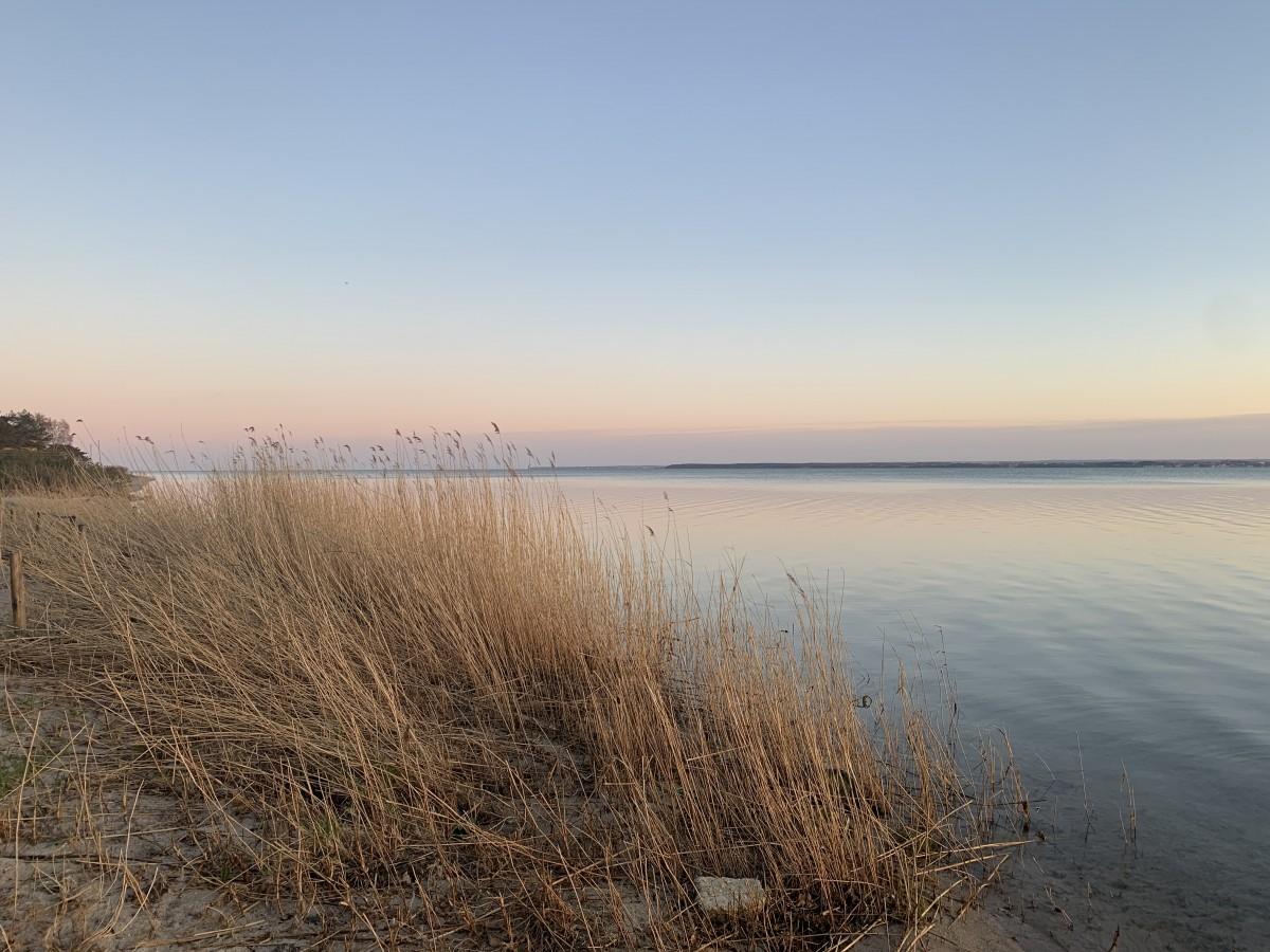 Zdjęcia: Władysławowo, Kaszuby , Zachód słońca nad Zatoką Pucką , POLSKA