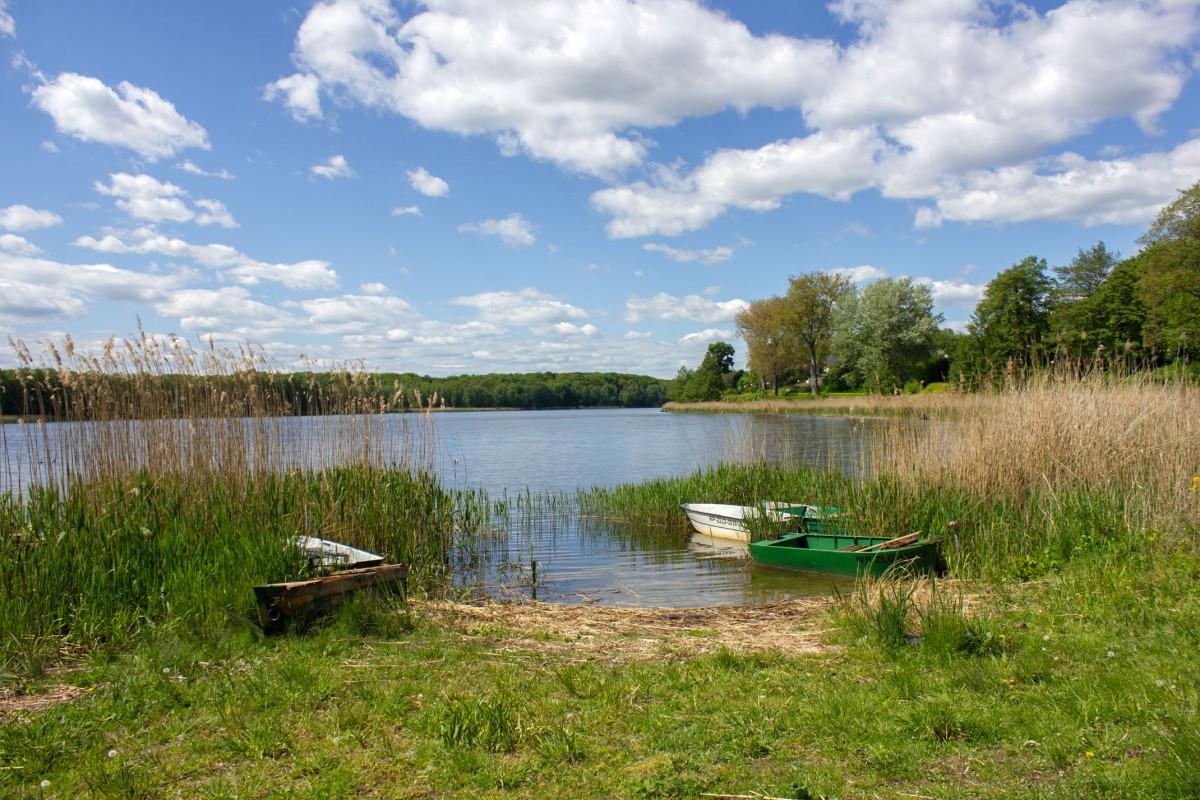 Zdjęcia: Złotów, Wielkopolska, Nad jeziorkiem, POLSKA