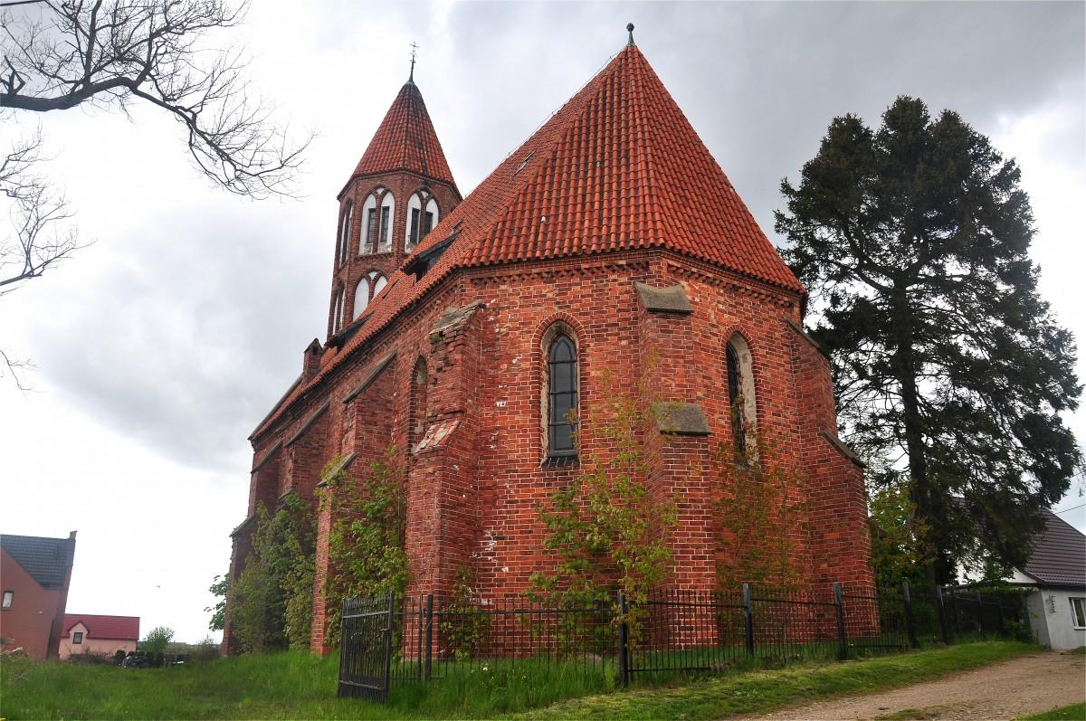 Zdjęcia: Stężyca, pomorskie, Kościół w Stężycy, POLSKA