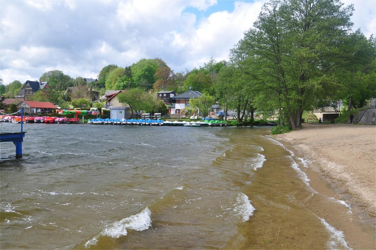Zdjęcia: Ostrzyce, pomorskie, Jezioro Ostrzyckie, POLSKA